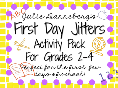 First+Day+Jitters+Activity+Pack