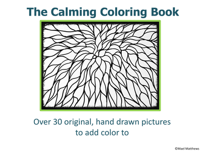 The Calming Mindfulness Colouring Book