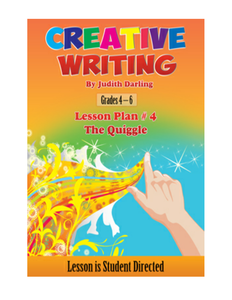 Creative Writing Lesson Plan #4 - The Quiggle