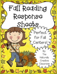 Fall Reading Response Sheet