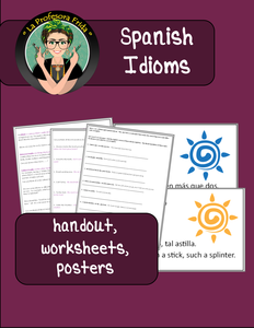 Spanish Idioms, Sayings, Dichos
