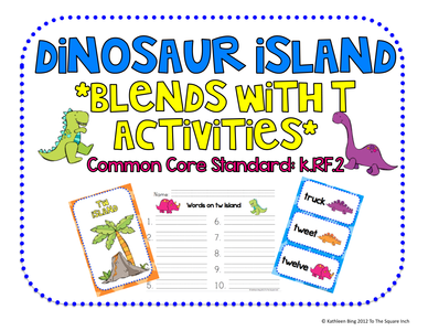 Dinosaur Island Blends with T-activites