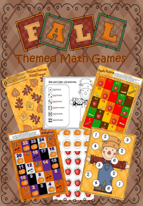 Fall/Autumn Number Games