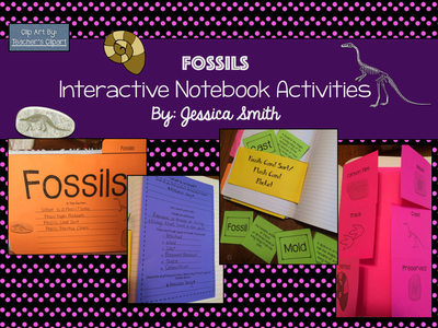 Fossils Science Interactive Notebook Resources