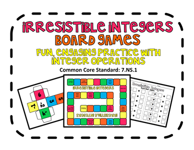 Irresistible Integers Board Game