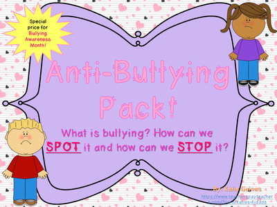 SPOT and STOP Bullying (Anti-Bullying Pack!)