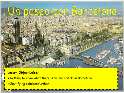 Un Paseo Por Barcelona