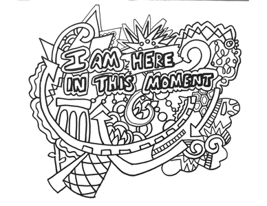 12 Affirmation Posters, Coloring Pages, Handouts