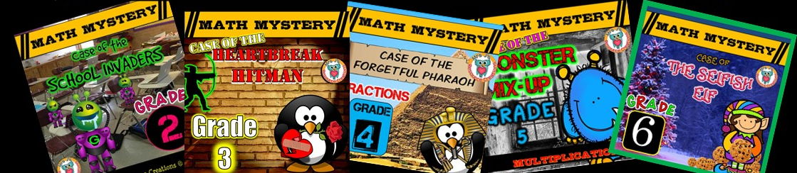 Mrs J's Math Mysteries