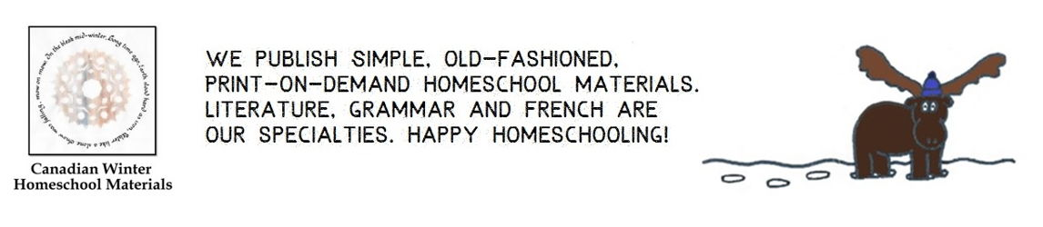 Canadian Winter Homeschool Materials
