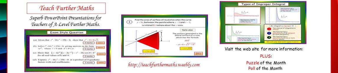 Teach Further Maths