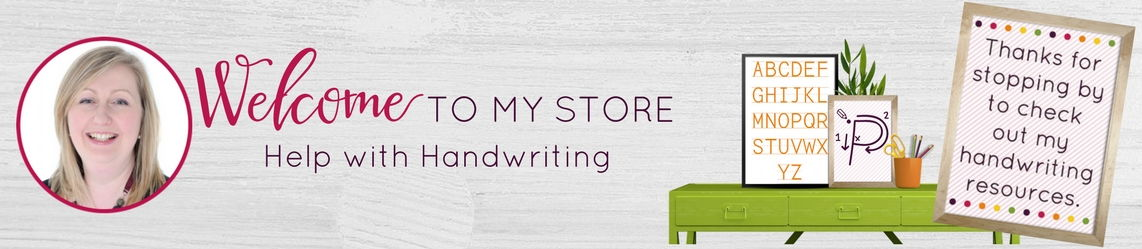 Help with Handwriting  Shop