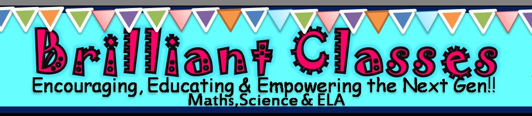 Brilliant Classes by Creative Educational Resources Designer