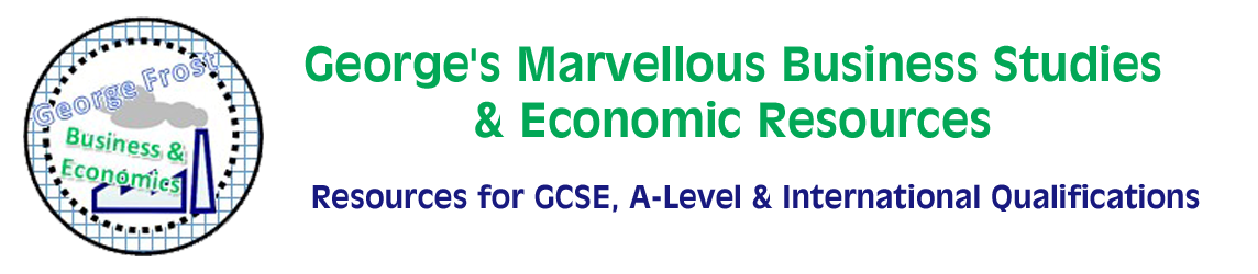 George's Marvellous Business Studies & Economic Resources