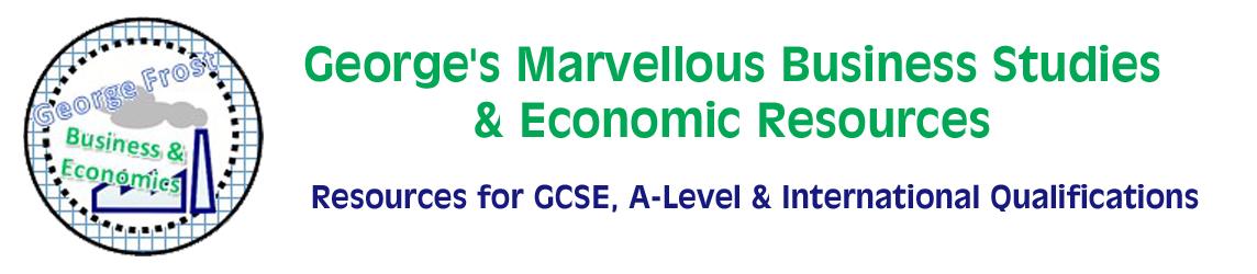 George's Marvellous Business Studies & Economic Resources