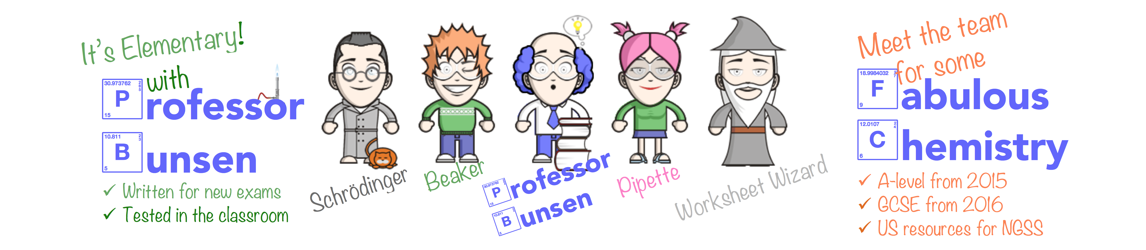 Professor Bunsen's Resource Laboratory!
